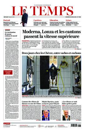 Le Temps (30.04.2021)