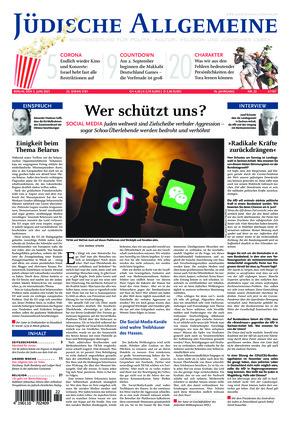 Jüdische Allgemeine 22/2021 (03.06.2021)
