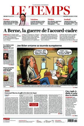 Le Temps (09.06.2021)