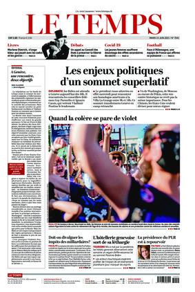 Le Temps (15.06.2021)