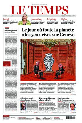 Le Temps (16.06.2021)