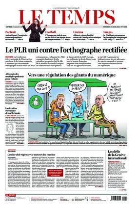 Le Temps (23.06.2021)