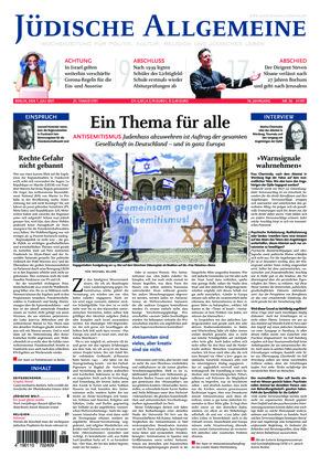 Jüdische Allgemeine 26/2021 (01.07.2021)