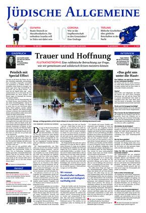 Jüdische Allgemeine 29/2021 (22.07.2021)