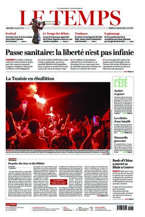 Le Temps (27.07.2021)
