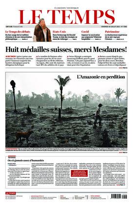 Le Temps (30.07.2021)