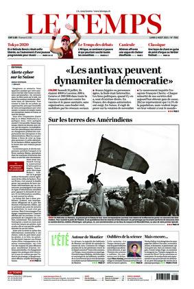 Le Temps (02.08.2021)