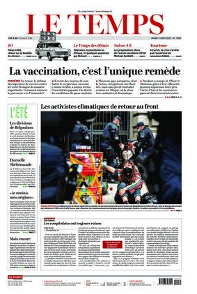 Le Temps (03.08.2021)