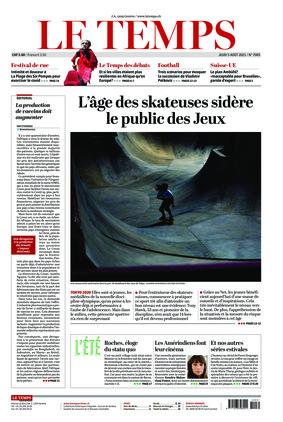 Le Temps (05.08.2021)