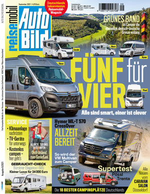 Auto BILD Reisemobil (09/2021)