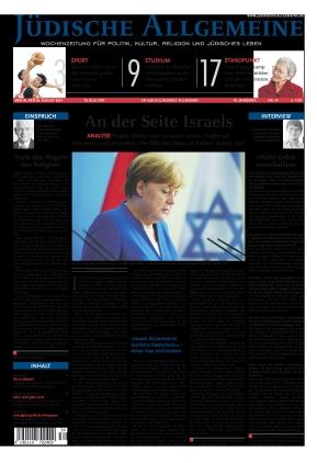 Jüdische Allgemeine 34/2021 (26.08.2021)