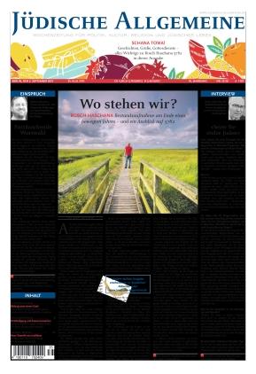 Jüdische Allgemeine 35/2021 (02.09.2021)