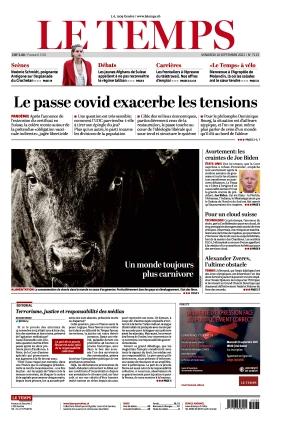 Le Temps (10.09.2021)