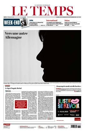 Le Temps (25.09.2021)