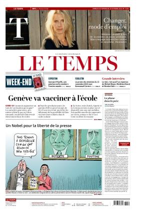Le Temps (09.10.2021)