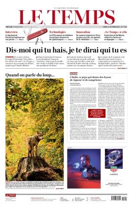 Le Temps (11.10.2021)
