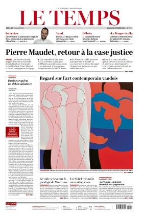 Le Temps (12.10.2021)