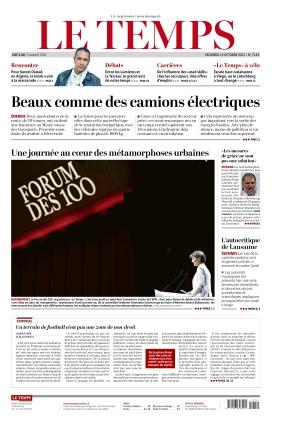 Le Temps (15.10.2021)