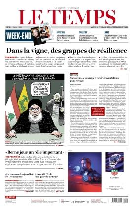 Le Temps (16.10.2021)