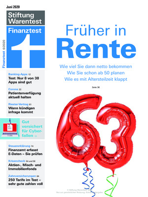 Finanztest (06/2020)