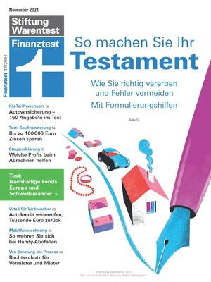 Finanztest (11/2021)