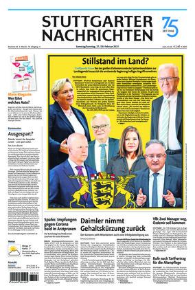 Stuttgarter Nachrichten (27.02.2021)