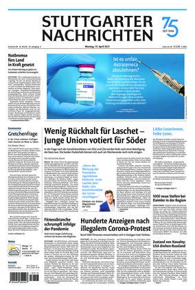 Stuttgarter Nachrichten (19.04.2021)