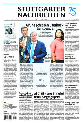Stuttgarter Nachrichten (20.04.2021)
