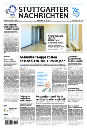 Stuttgarter Nachrichten (22.07.2021)