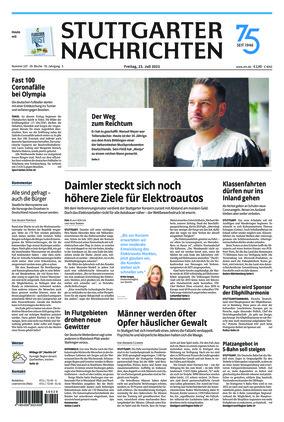 Stuttgarter Nachrichten (23.07.2021)