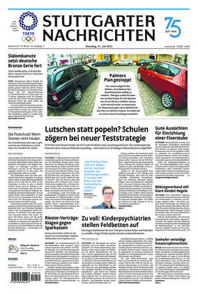 Stuttgarter Nachrichten (27.07.2021)
