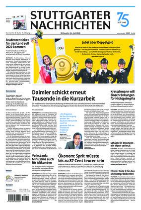 Stuttgarter Nachrichten (28.07.2021)