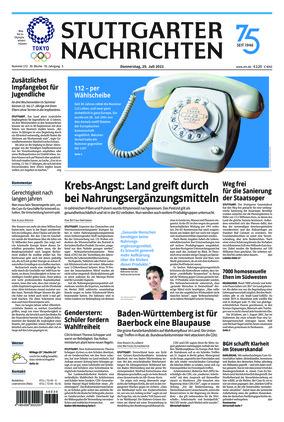 Stuttgarter Nachrichten (29.07.2021)