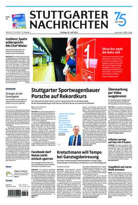Stuttgarter Nachrichten (30.07.2021)