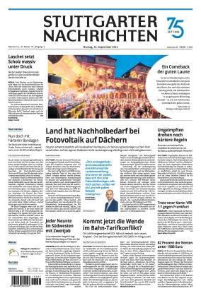 Stuttgarter Nachrichten (13.09.2021)