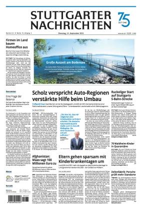 Stuttgarter Nachrichten (14.09.2021)