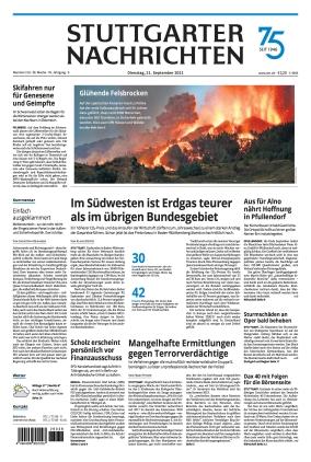 Stuttgarter Nachrichten (21.09.2021)