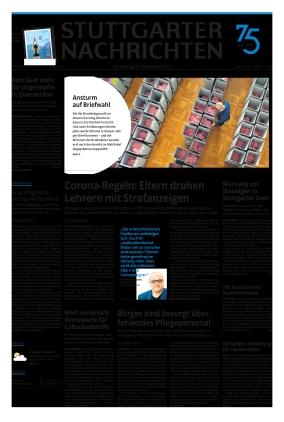 Stuttgarter Nachrichten (23.09.2021)