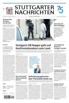 Stuttgarter Nachrichten (15.10.2021)