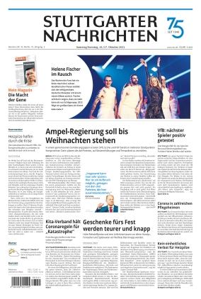 Stuttgarter Nachrichten (16.10.2021)