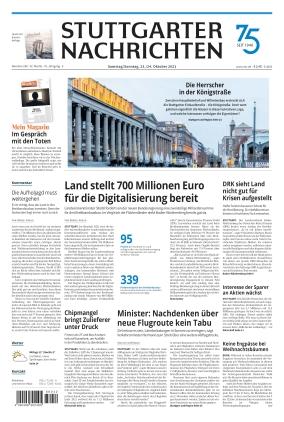 Stuttgarter Nachrichten (23.10.2021)