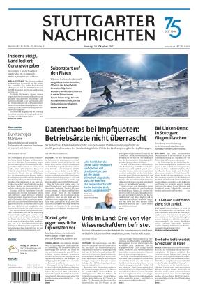 Stuttgarter Nachrichten (25.10.2021)
