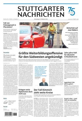 Stuttgarter Nachrichten (26.10.2021)