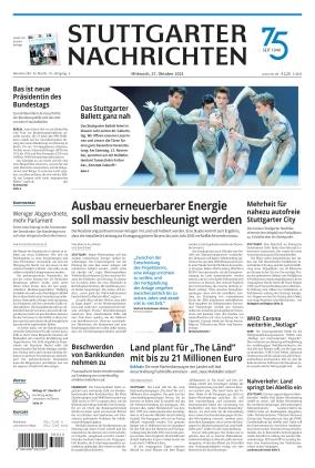 Stuttgarter Nachrichten (27.10.2021)
