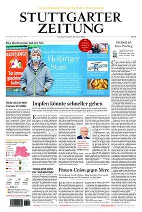 Stuttgarter Zeitung (09.01.2021)