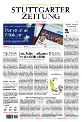 Stuttgarter Zeitung (11.01.2021)