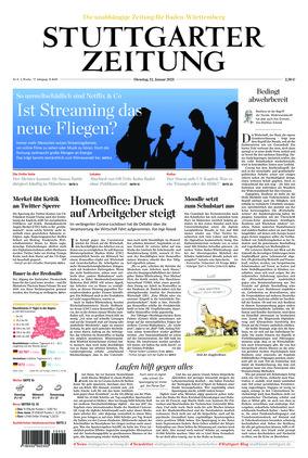 Stuttgarter Zeitung (12.01.2021)