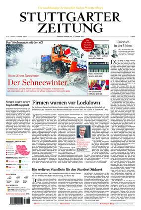 Stuttgarter Zeitung (16.01.2021)