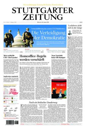 Stuttgarter Zeitung (20.01.2021)