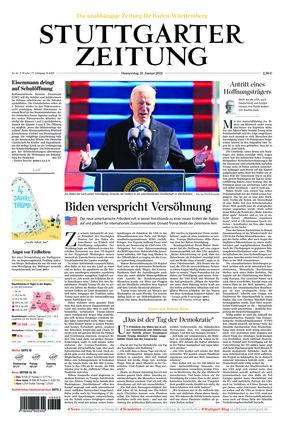 Stuttgarter Zeitung (21.01.2021)